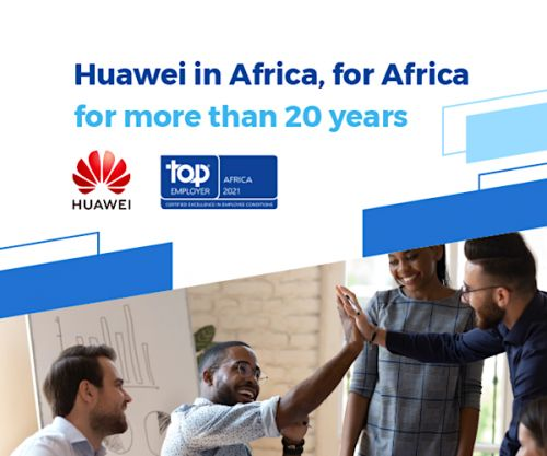 Huawei Northern Africa obtient la certification Top Employer 2021