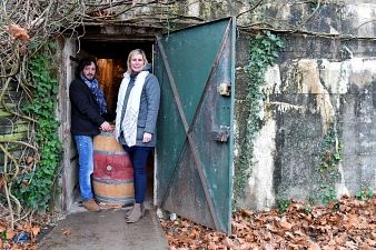 Vinification:  quand un blockhaus bordelais est transformé en chai