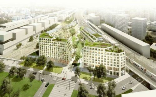 L'Îlot Fertile, un futur quartier multi-usages et zéro carbone inspirant