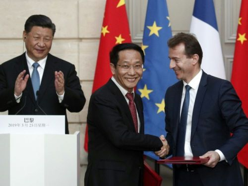 La Chine finalise sa commande de 300 Airbus à Paris