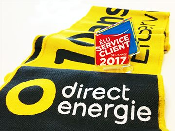 TOTAL:  Total détient plus de 95% de Direct Energie