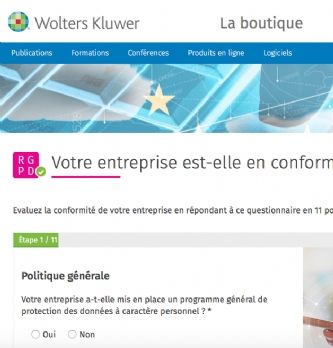 Wolters Kluwer lance son diagnostic RGPD
