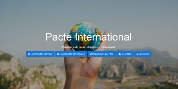 Pacte PME lance la plateforme Pacte international pour inciter la collaboration à l'export