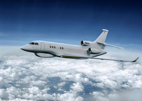 Dassault Aviation:  Le Falcon 8X Archange au service de l'armée de l'Air