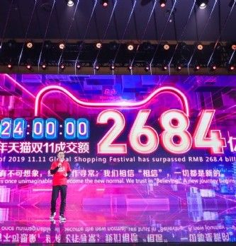 Single's Day:  nouveau record battu pour Alibaba