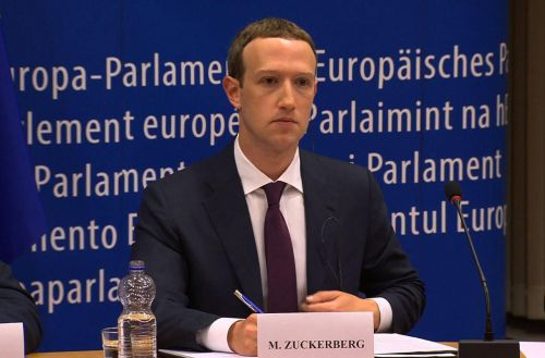 EN DIRECT - Suivez l'audition de Mark Zuckerberg devant le Parlement européen